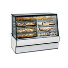 Federal Industries SGR7748DZ 77 inch Full Service Dual-Zone Refrigerated/Dry Bakery Display Case