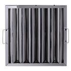 Regency 16 inch(H) x 16 inch(W) x 2 inch(T) Stainless Steel Hood Filter