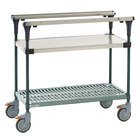 Metro MS1848-FSPR PrepMate MultiStation with Stainless Steel and SuperErecta Pro Shelving - 50 inch x 19 3/8 inch x 39 1/8 inch
