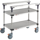 Metro MS1836-FSFS PrepMate MultiStation with Stainless Steel Shelving - 38 inch x 19 3/8 inch x 39 1/8 inch