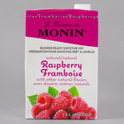 Monin 46 oz. Raspberry Fruit Smoothie Mix