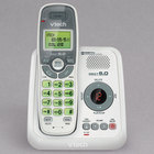 Vtech CS6124 White Cordless Phone with Answering System