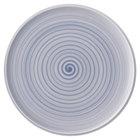"Villeroy &amp&#x3b; Boch 10-4858-2590 Artesano Nature 12 1/2"" Bleu Premium Porcelain Buffet / Pizza Plate"