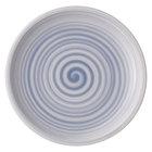 """Villeroy &amp&#x3b; Boch 10-4858-2640 Artesano Nature 8 1/2"""" Bleu Premium Porcelain Salad Plate - 6/Case"""