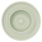 "Villeroy &amp&#x3b; Boch 10-4860-2700 Artesano Nature 10"" Vert Premium Porcelain Deep Plate - 6/Case"