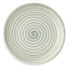 """Villeroy &amp&#x3b; Boch 10-4860-2660 Artesano Nature 6 1/4"""" Vert Premium Porcelain Coupe Bread &amp&#x3b; Butter Plate - 6/Case"""