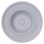 "Villeroy &amp&#x3b; Boch 10-4858-2700 Artesano Nature 10"" Bleu Premium Porcelain Deep Plate - 6/Case"