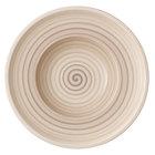 Villeroy & Boch 10-4862-2700 Artesano Nature 10 inch Beige Premium Porcelain Deep Plate - 6/Case