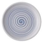 """Villeroy &amp&#x3b; Boch 10-4858-2660 Artesano Nature 6 1/4"""" Bleu Premium Porcelain Coupe Bread &amp&#x3b; Butter Plate - 6/Case"""