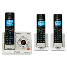 Vtech LS6425-3 Black / Silver Cordless Answering System with 2 Additional Handsets