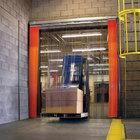 Curtron QSD-12-67-UM-144X144 144 inchW x 144 inchH PVC Strip Door - Standard Grade