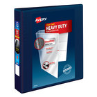 Avery 79805 Navy Blue Heavy-Duty View Binder with 1 1/2 inch Locking One Touch EZD Rings