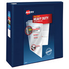 Avery 79804 Navy Blue Heavy-Duty View Binder with 4 inch Locking One Touch EZD Rings