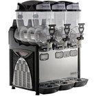 Narvon SM263 Triple 2.6 Gallon Pourover Granita / Slushy / Frozen Beverage Dispenser - 120V