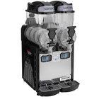 Narvon SM262 Double 2.6 Gallon Pourover Granita / Slushy / Frozen Beverage Dispenser - 120V