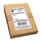 Avery 95900 TrueBlock 5 1/2 inch x 8 1/2 inch White Rectangle Shipping Labels - 1000/Box