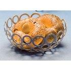 American Metalcraft WCW81 8 inch Round Silver Go-Go Basket