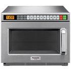 Panasonic NE-12523 Stainless Steel Medium Duty Commercial Microwave Oven - 120V, 1200W