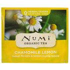 Numi Organic Chamomile Lemon Herbal Tea Bags - 100/Case