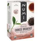 Numi Organic Chinese Breakfast Tea Bags - 18/Box