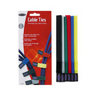 Belkin F8B024 8 inch Assorted Color Cable Tie - 6/Pack