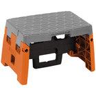 Cosco 11903BGO1E Orange / Gray 1 Step Folding Step Stool