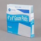 Medi-First 62012 4 inch x 4 inch Sterile Gauze Pad - 10/Box