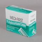 Medi-First 21173 .9G Hydrocortisone 1% Anti-Itch Cream Packet - 25/Box