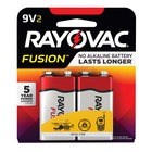Rayovac A1604-2TFUSK Fusion 9V Advanced Alkaline Batteries   - 2/Pack