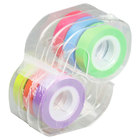 LEE 13888 1/2 inch Removable Assorted Colors Highlighter Tape   - 6/Pack
