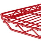 Metro qwikSLOT Red Wire Shelving