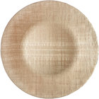 Bon Chef 200007CHPGN Tavola 13 inch Champagne Textured Glass Charger Plate