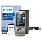Philips DPM700001 Pocket Memo 7000 Silver 2 GB Slide Digital Recorder