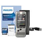 Philips DPM600001 Pocket Memo 6000 Silver 2 GB Push Button Digital Recorder