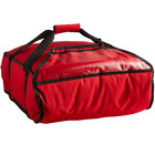 Cambro GBP216521 Insulated Red Pizza Delivery GoBag™ - Holds up to (2) 16 inch or (3) 14 inch Pizza Boxes