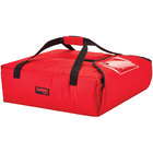 Cambro GBPP212521 Insulated Red Premium Pizza Delivery GoBag™ - Holds up to (2) 12 inch Pizza Boxes
