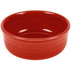 Homer Laughlin 576326 Fiesta Scarlet 22 oz. Chowder Bowl - 6/Case