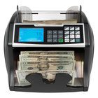 Royal Sovereign RBC4500 Black / Silver Variable Speed Currency Counter with Counterfeit Detection - 120V