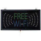 Aarco FRE11M Free Wi-Fi LED Sign