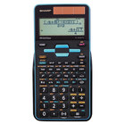 Sharp ELW535TGBBL 16-Digit LCD WriteView Battery / Solar Powered Scientific Calculator