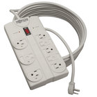 Tripp Lite TLP825 Protect It! 25' Light Gray 8 Outlet Surge Suppressor, 1440 Joules