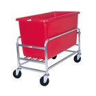 Winholt 30-8-AL/RD Aluminum Bulk Mover with 8 Bushel Red Tub