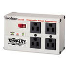 Tripp Lite ISOBAR4ULTRA Isobar 6' Light Gray 4 Outlet Metal Surge Suppressor, 3330 Joules