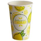Carnival King 12 oz. Poly Paper Lemonade Cup - 1000/Case