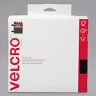 Velcro® 91137 3/4 inch x 30' Black Sticky-Back Hook and Loop Fastener Tape Roll with Dispenser