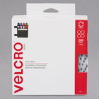 Velcro® 91824 3/4 inch White Sticky-Back Hook and Loop Dot Fasteners - 200/Box