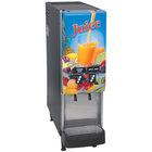 Bunn 37900.0016 JDF-2S 2 Flavor Cold Beverage Juice Dispenser with Portion Control and Lit Door