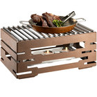 Bronze chafer alternative with grill-top