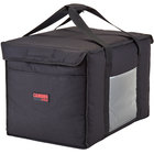 Cambro GBD211414110 Insulated Black Large Delivery GoBag™ - 21 inch x 14 inch x 14 inch