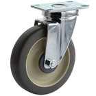 Cambro 41021 5 inch Swivel Plate Caster for Ice Caddies